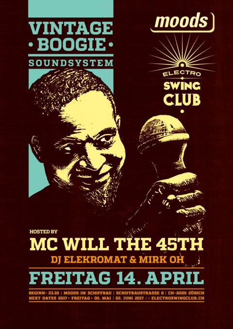 Vintage Boogie Soundsystem  Hosted by MC Will the 45th