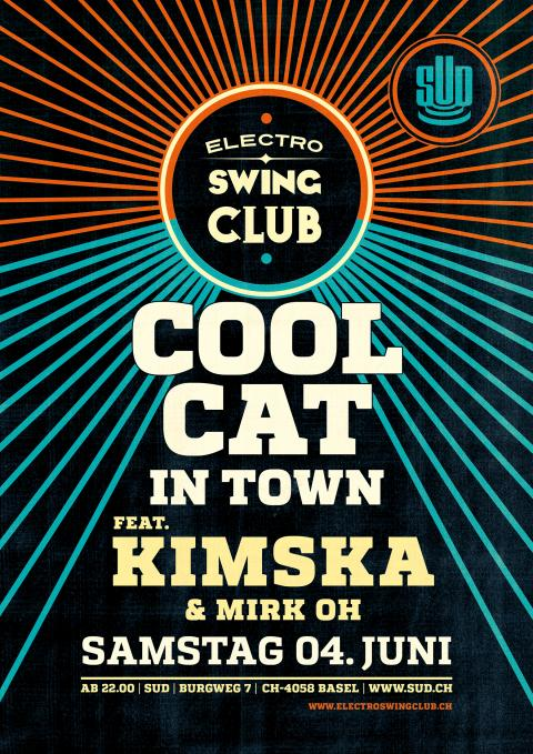 A Cool Cat in Town - KimSka im SUD Basel