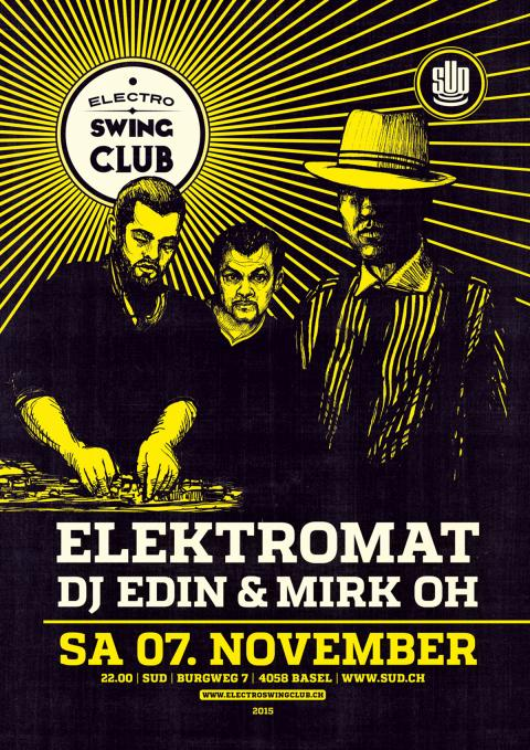 Electro Swing Club im SUD 7. November 2015